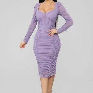 Beautiful dress, too small..fashion Nova